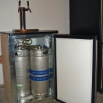 The Brian's Belly Kegerator: Exposed